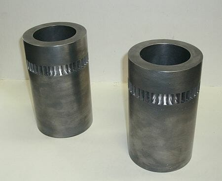 Nuclead can pour nuclear casks for radiation protection