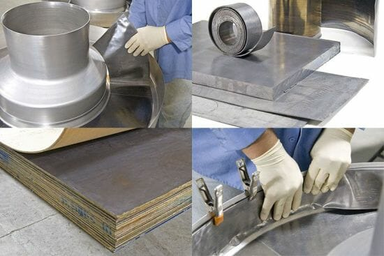 Nuclead Offers custom lead sheet assemblies, custom lead plate assemblies, custom lead foil assemblies and lead laminating for x-ray shielding and radiation shielding