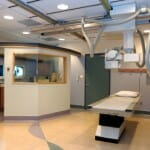 Lead sheetrock in Hospital X-ray room