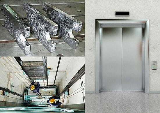 Lead elevator weights from Nuclead up to 100000 ilbs & Lead Elevator Weights