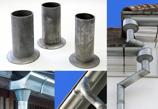 Lead Gutter outlets, Lead Flashing, Lead Pipe / Sleeves, Antimony Lead