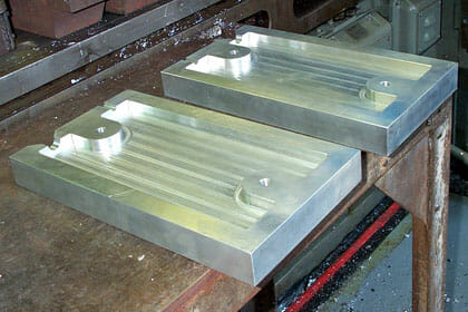 Custom Lead mold fabrication including lead molding and tin molds from Nuclead