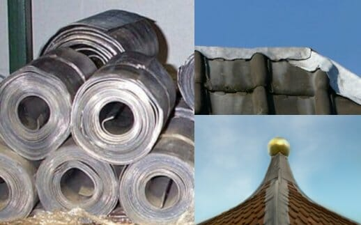 Lead Roofing Materials Lead Roof Flashing Lead Chimney