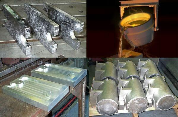 Custom lead alloy pours and Custom Mold fabrication -