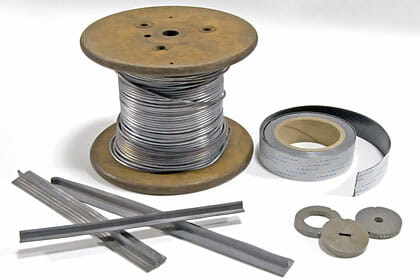 Any Form Of Lead Alloy Wire Can Be Manufactured By Nuclead